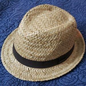 NWOT *** Straw fedora hat by H&M
